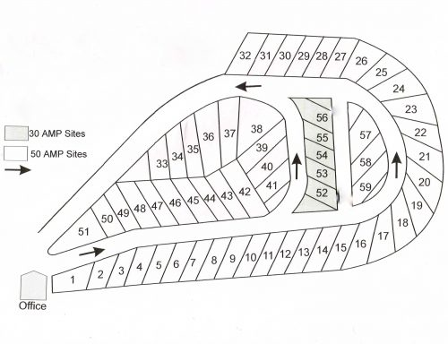 Site map BW